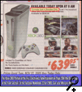 "The Xbox 360 Portion of the Fry�s Electronics Advertisement on Page 20A (the Back Page of the Front Section) of the Tuesday, November 22nd, 2005 ""San Jose Mercury News"""